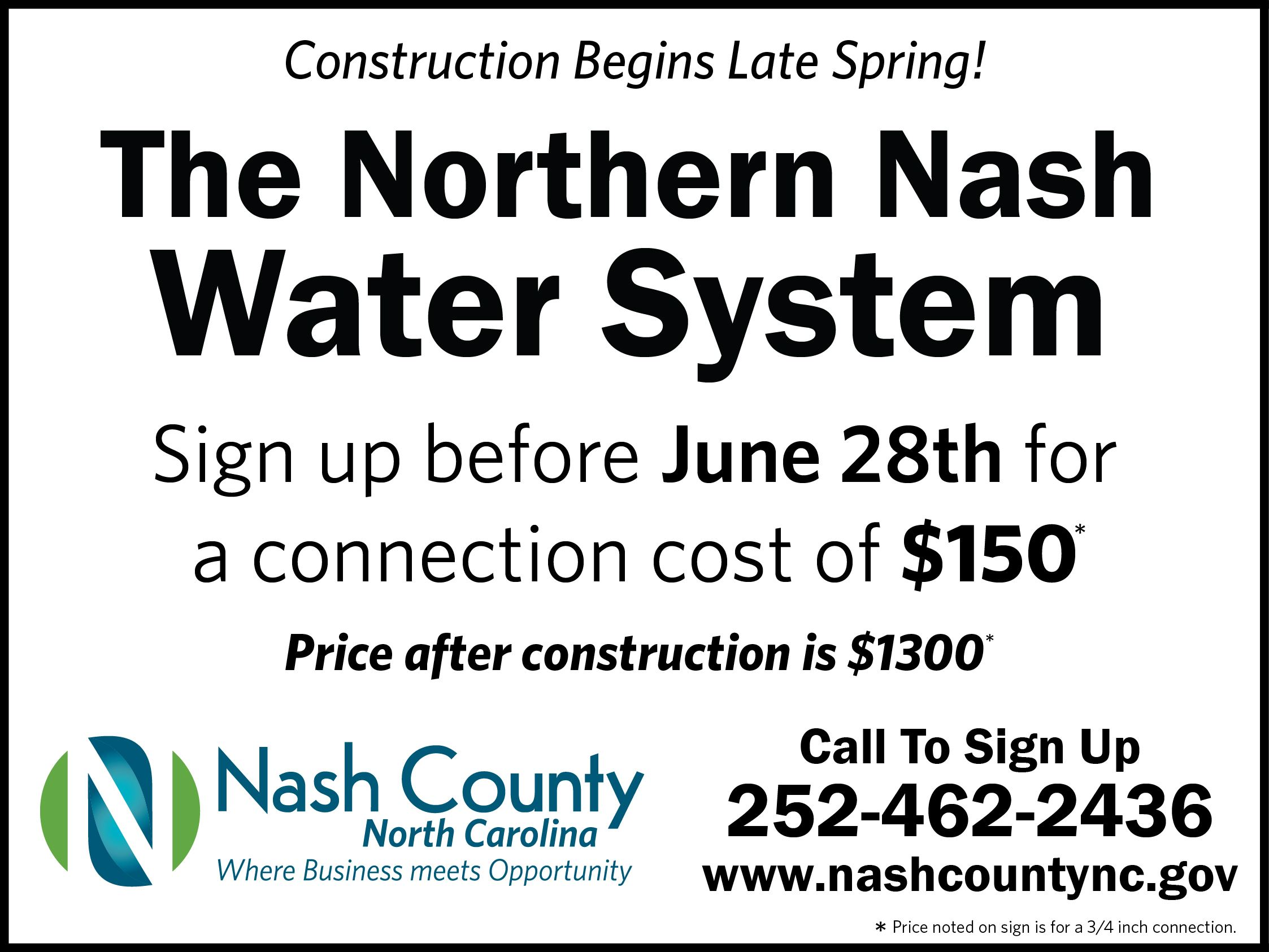 Northern Nash Water System